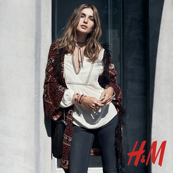 H&M Shows Us How to Wear the Boho Trend for Fall via @WhoWhatWearUK