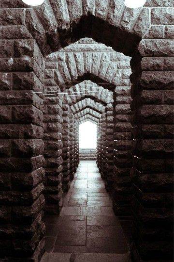 Arches at the Voortrekker Monument, Pretoria, South Africa