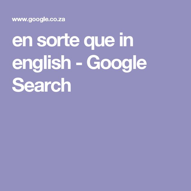 en sorte que in english - Google Search