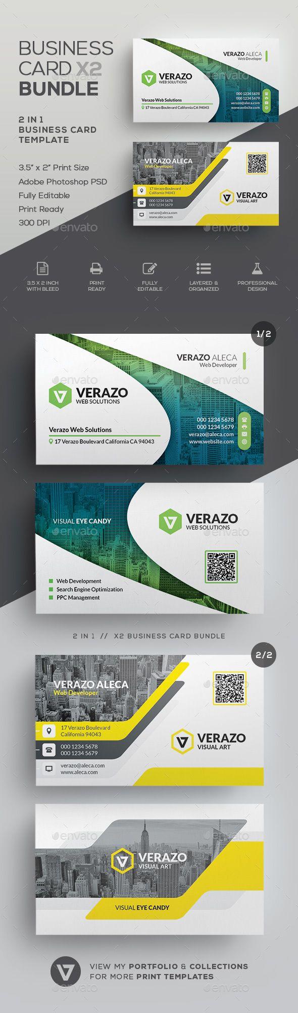Business Card Bundle 60 Modern Business Cards Design Business Card Ideas Buy Business Cards