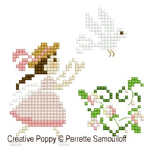 Perrette Samouiloff - The wedding large pattern (cross stitch)