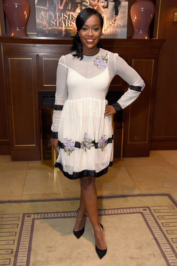 "Aja Naomi King from ""How To Get Away With Murder"" #THRStylists"