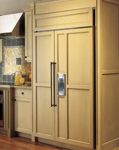SubZero 695S BuiltIn SidebySide Refrigerators