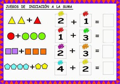 Juegos para INICIAR a tus hijos en las Matematicas ~ Para niños