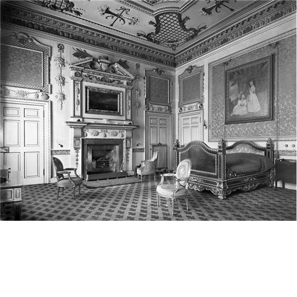 Duchess's Bedroom, Hamilton Palace, Scotland, Destroyed 1929