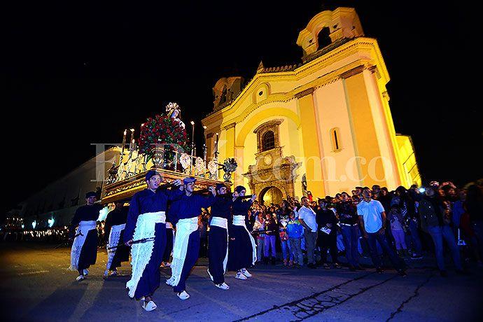 Estas son las mejores imágenes del Jueves Santo en Popayán