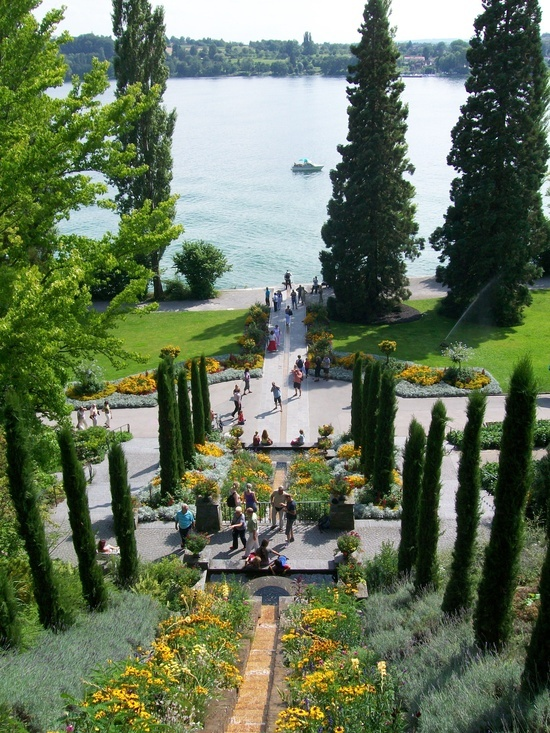 Garden on the Island of Mainau in the Bodensee (Lake Konstanz) - Germany
