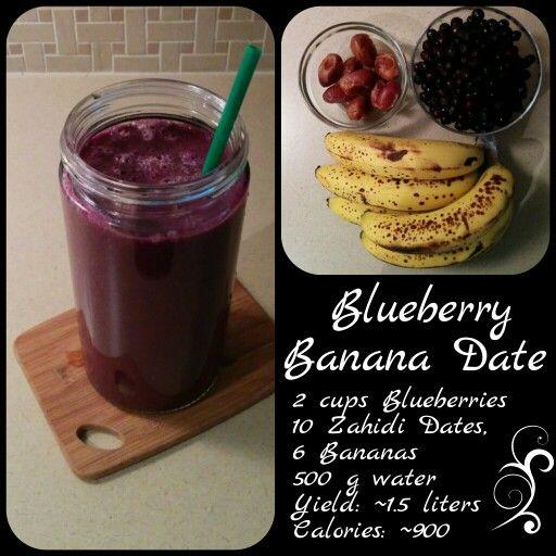 Blueberry, Banana, Date