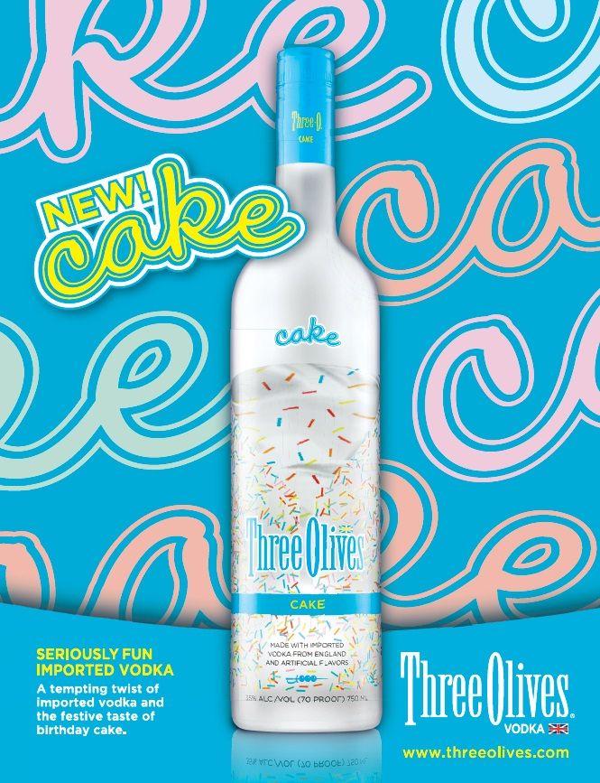 Three olives cake flavored vodka drink recipes Food Cake Recipes