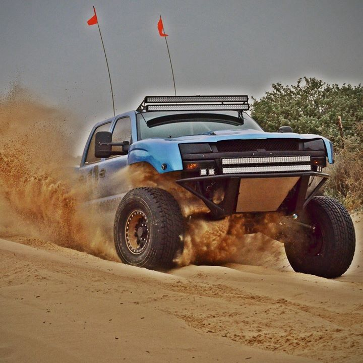 Blue Chevy Pre Runner Offroad Pinterest Chevy