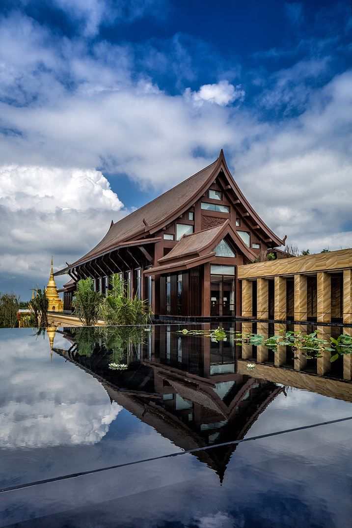Wanda Vista Xishuangbanna Resort - Picture gallery #chinese #architecture #resort