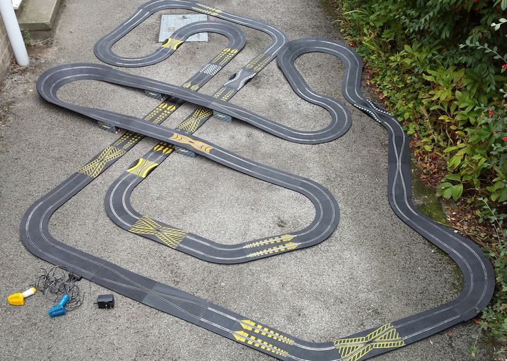 Huge Classic Scalextric 1:32 track layout. Now on sale. #scalextric #slotcar #132scale #slotracing