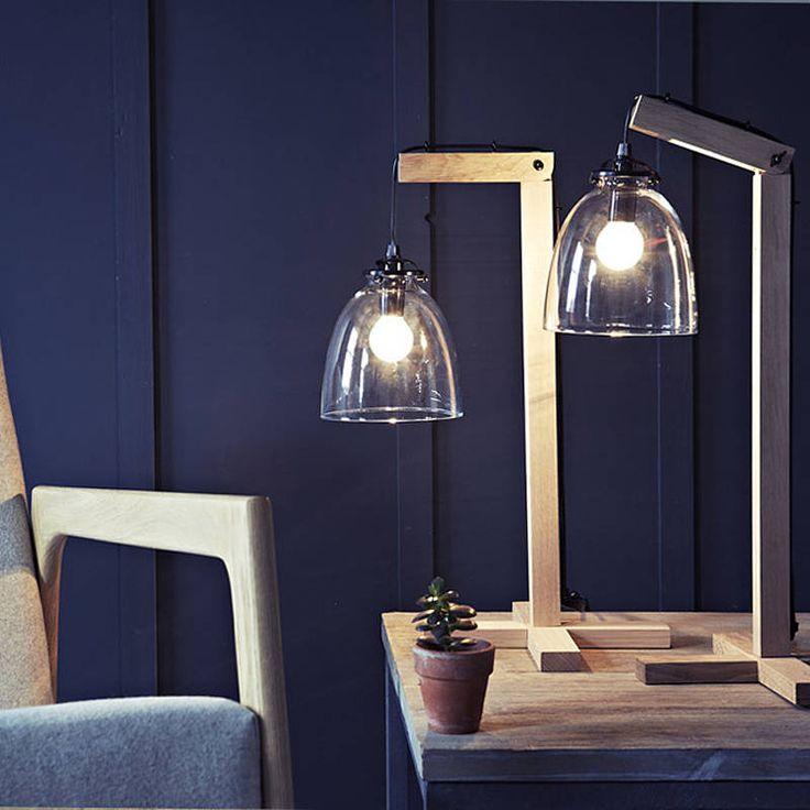 Olson Oak Lamp