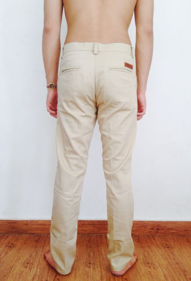 Freya chino pants cream, more info: +628982377867, @freyabali.