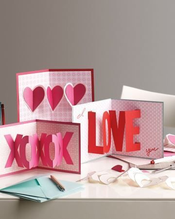 pop up valentines day cards martha stewart