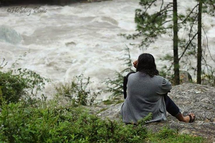 http://planning4holidays.blogspot.in/2015/01/kasol-mini-israel-of-india.html .. Peace at Parvati River .. #scenic #valley #parvati #river #untouched #hills #mini #israel #bank #low #population #Himalaya #Sarpass #yanker #pass #Kheerganga #Kasol #Himachal #Pradesh #India #HolidayPlans