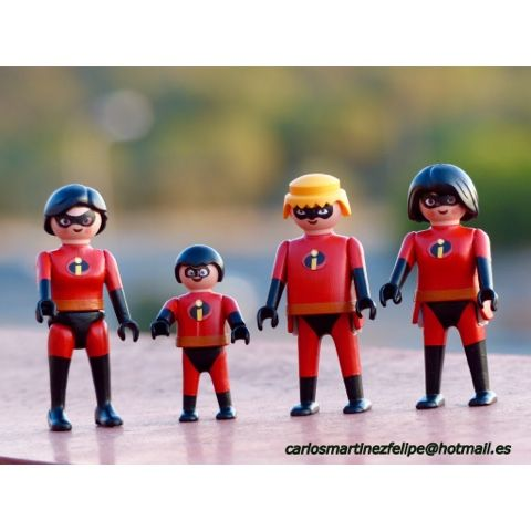 Playmobil Custom Spiderman. Playmobil Los Increíbles