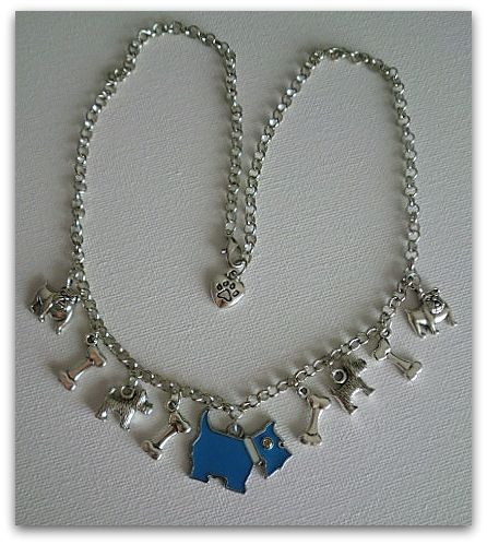 My lovely dog - necklace handmade by Miss Daisy