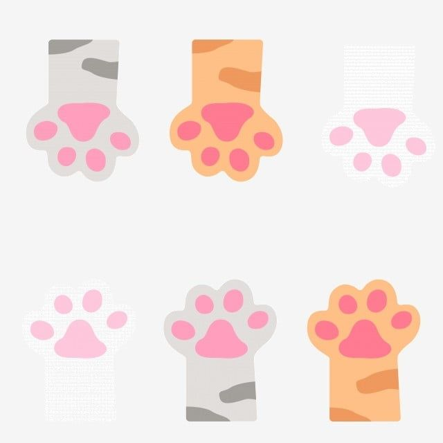 Cat Paw Vector Pattern Pattern Clipart Cat Paw Png And Vector With Transparent Background For Free Download Vector Pattern Cat Vector Cat Paws