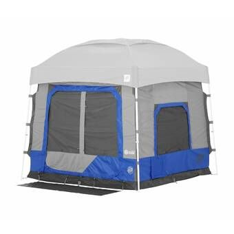 c967da3147b Outsunny Deluxe 4-in-1 Compact Folding Dome Shelter Tent with Sleeping Bag  Air