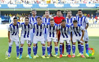 EQUIPOS DE FÚTBOL: REAL SOCIEDAD contra Villarreal 18/09/2016