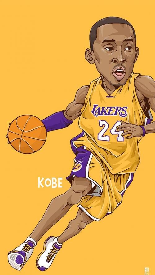 Kobe Bryant Art Nba basketball, Basketball, Sports