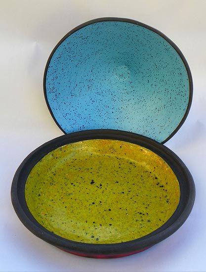 Ceramics by Jim Simpson at Studiopottery.co.uk - 2013. Inside Tagine