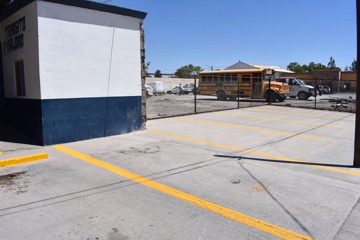 Con la finalidad de contar con un estacionamiento en mejores condiciones en las instalaciones de la dirección de seguridad pública municipal...