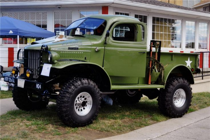 1941 DODGE Power Wagon. My husband would love this!
