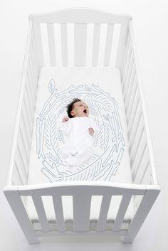 Nest crib sheet   bedtoppings