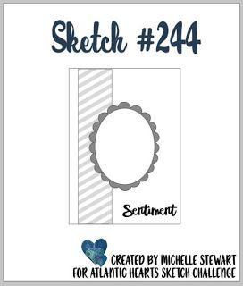 Atlantic Hearts Sketch Challenge : Sketch, Sketch #244