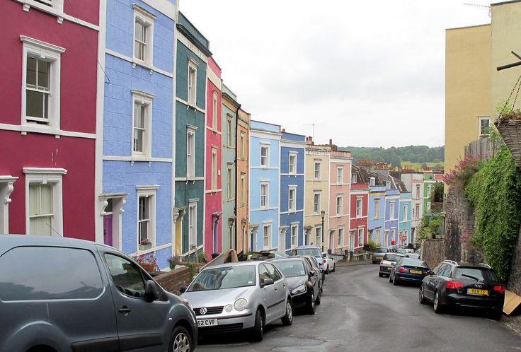 Bristol, Angleterre. | 18 villes colorées qui vont vous donner envie de déménager