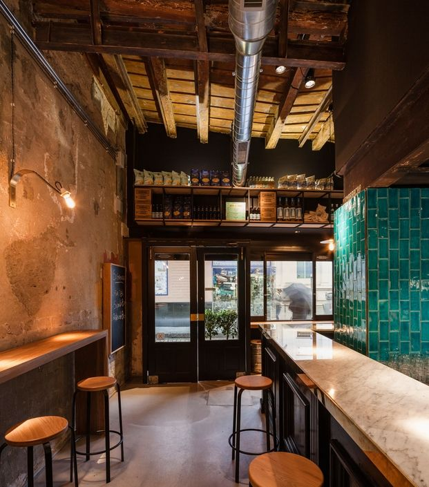 Mamarracha is a conceptual tapas bar with a real city character. Its laid-back and contemporary atmosphere and distinctive interior design represent its identity.  www.mamarracha.es