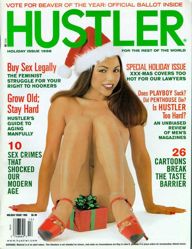 Hustler past issues