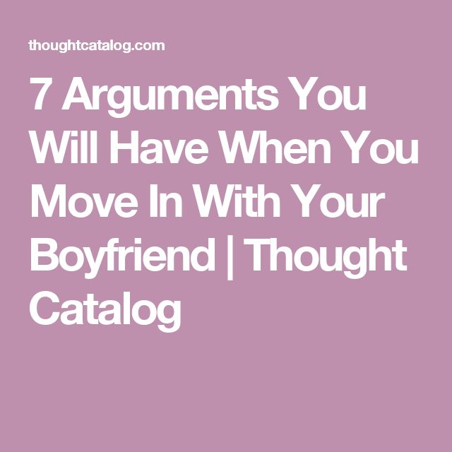 Moving from dating to boyfriend