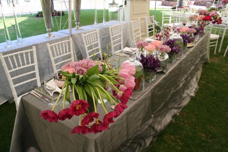 Summer Garden Wedding Main Table