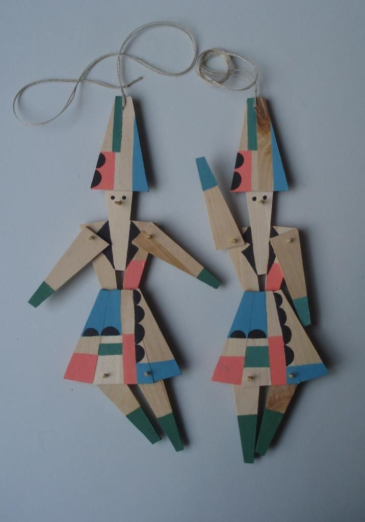 Wooden Characters For Christmas F R A L E I S