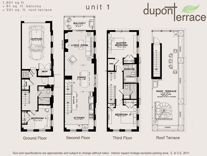 Architecture Urban Townhouse Floor Plans Fresh Toronto Dupont Terrace Plan Intended For Ideas 13 Narrow House Plans Terrace Floor Luxury Townhouse