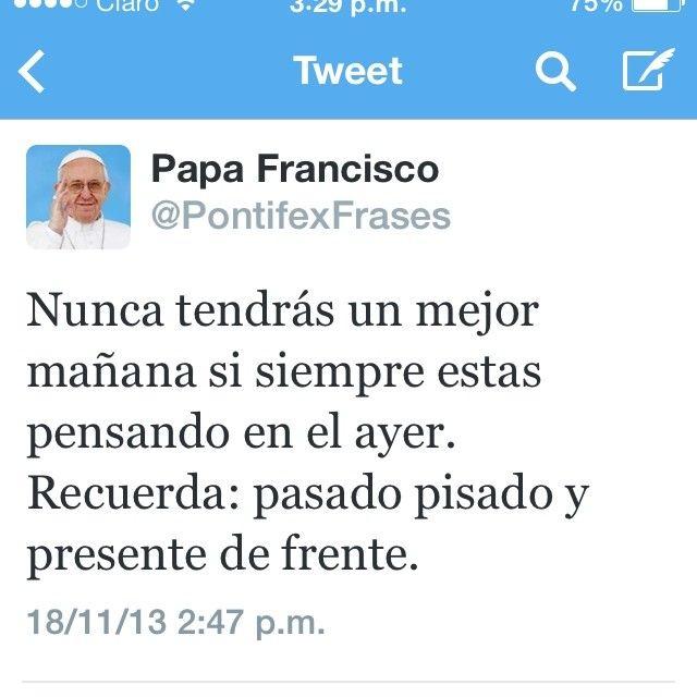 Palabras Del Santo Papa Francisco <~> His Holiness Pope Francis ~:<3