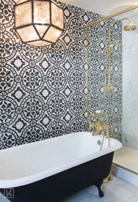 Though white subway tile still reigns supreme in kitchens and baths  but on  the floor281 best Colorful Allure images on Pinterest   Home  Living spaces  . Allure Kitchen And Bath Long Island. Home Design Ideas