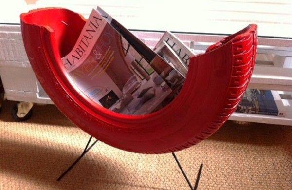 Tolle DIY Projekte - Machen Sie interessante Möbel aus Autoreifen
