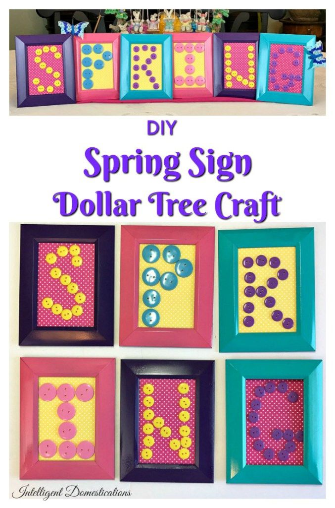 Domestications Home Decor beautiful domestications home decor pleasurable Diy Dollar Store Spring Craft
