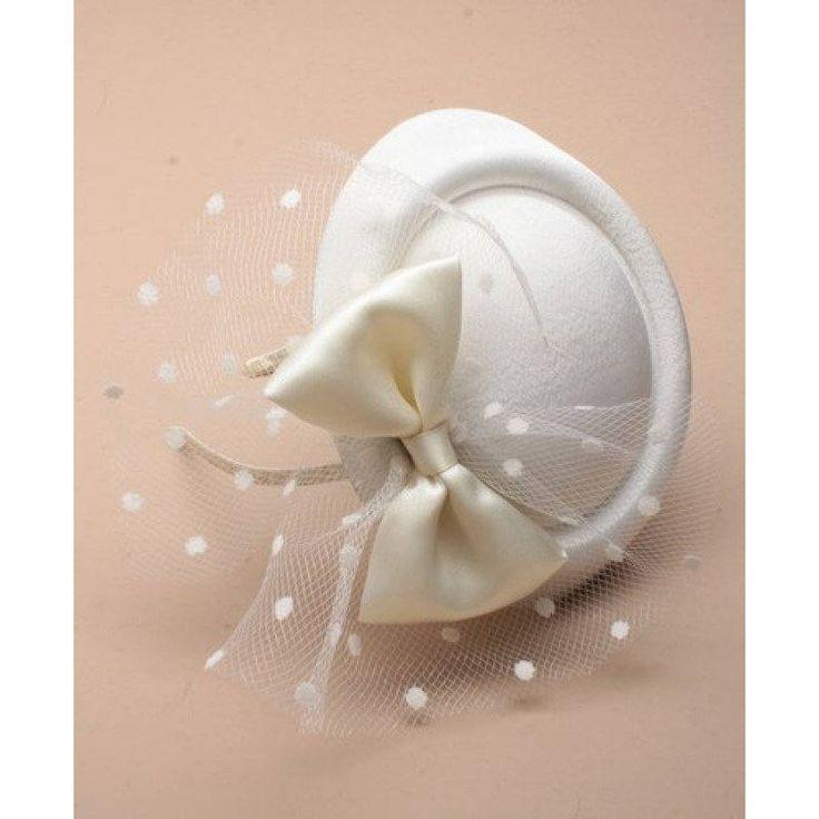 cream net hatinator wedding hat cream fascinator formal hat