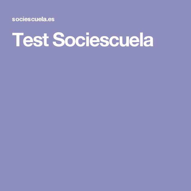 Test Sociescuela