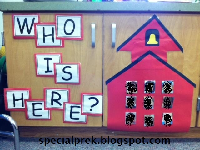 Free Download Picture Attendance Chart Preschool Social