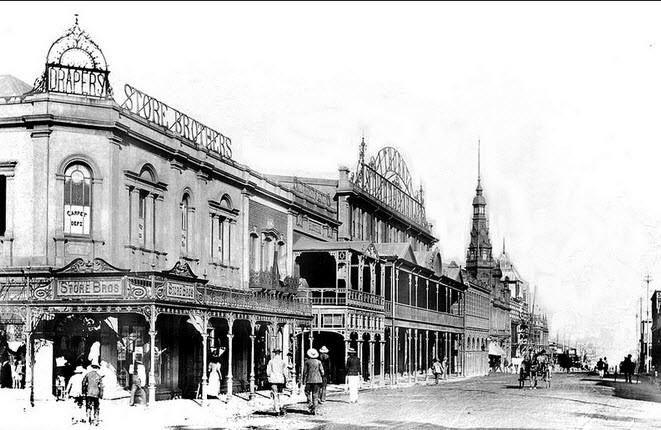 Pritchard Street circa 1900 (With acknowledgement to Friedel Hansen)