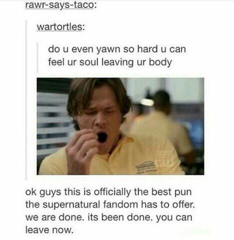 Image via We Heart It https://weheartit.com/entry/180142801 #funny #post #spn #supernatural #tumblr