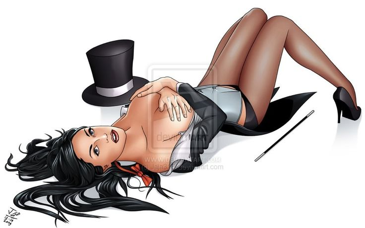 zatanna: magician exposed by Jaja316