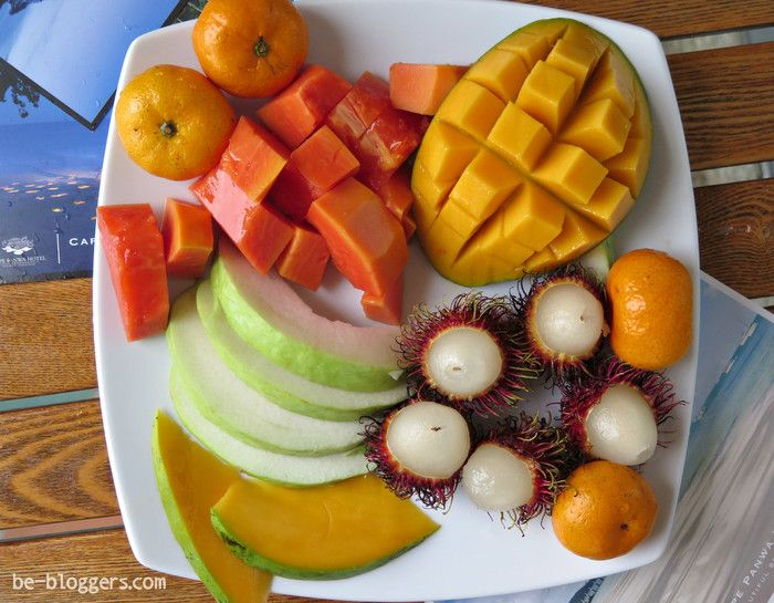 Экзотические фрукты, мандарины, рамбутан, манго, папайя, фото, отзыв