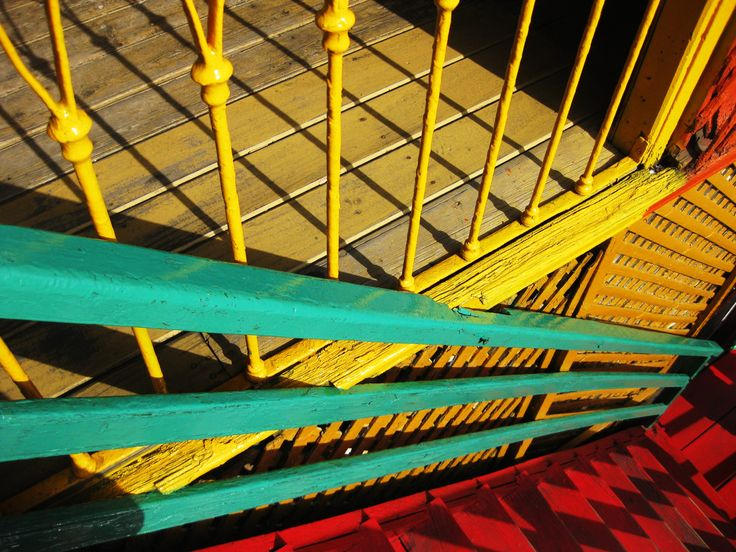 Buenos Aires, La Boca, Escaleras  * STAIRS  * COLORS